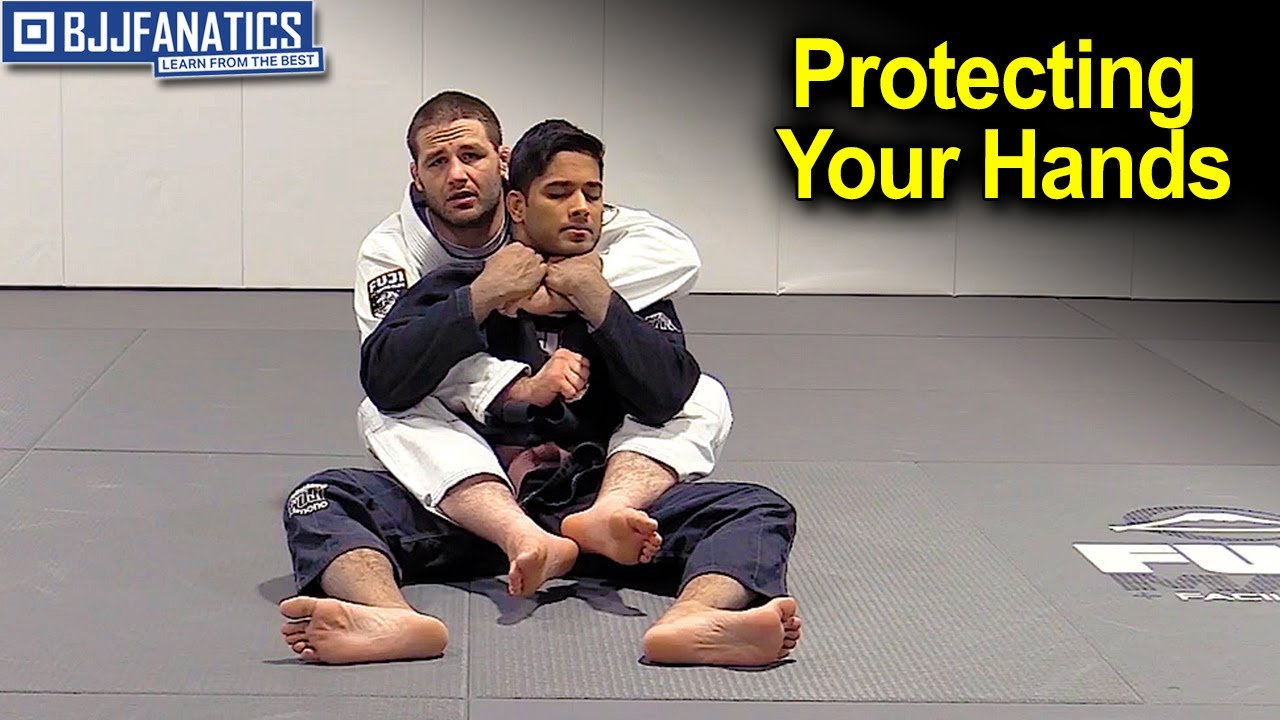 Protecting Your Hands When going For a Back Choke by Travis Stevens
