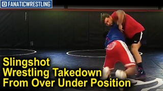 Slingshot Wrestling Takedown From The Over Under Position With All American Nate Jackson