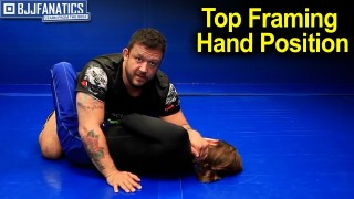 Stop Your Opponent's Guard with Top Framing Hand Position by Tom DeBlass