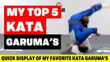 Top 5 Kata Garuma's For Judo & BJJ- Travis Stevens