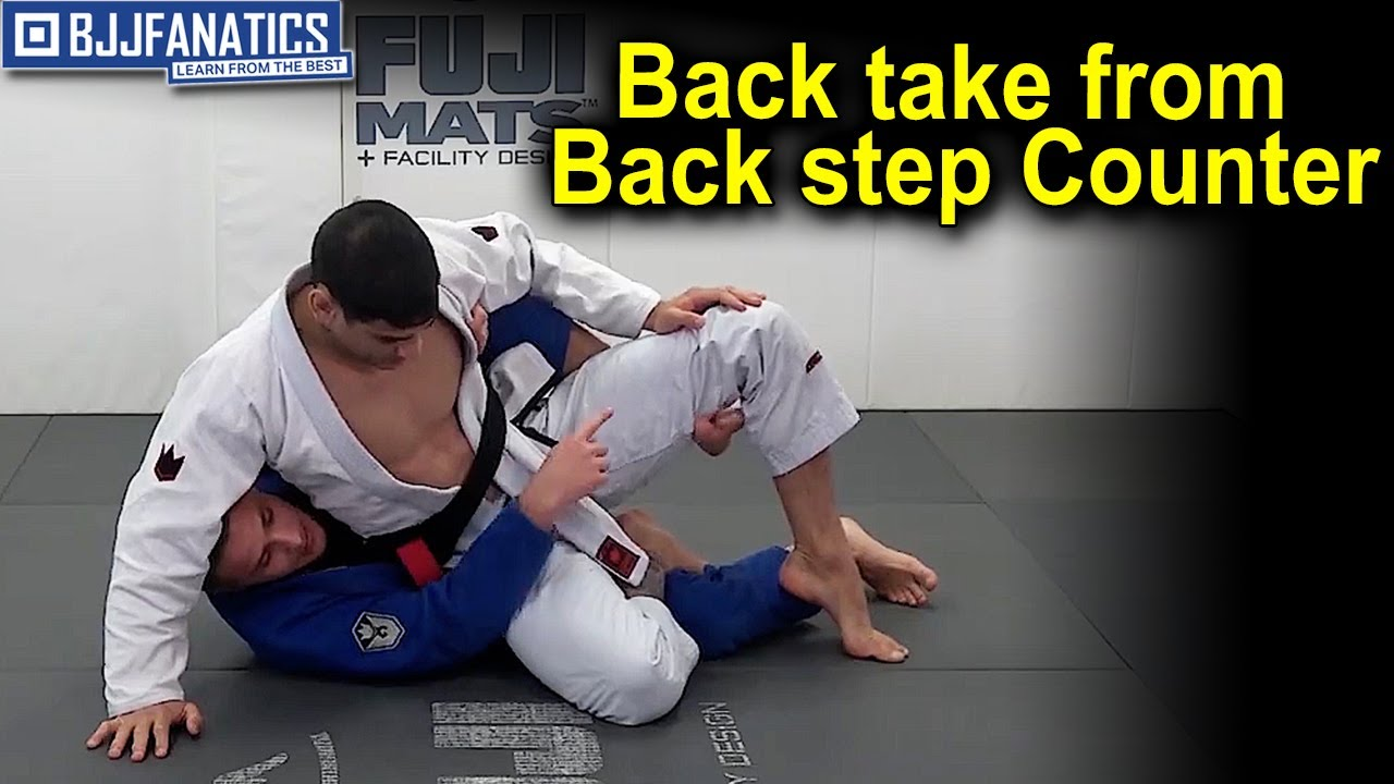 Back take from Back step Counter by Matheus Gonzaga