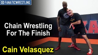 Chain Wrestling For The Finish by Cain Velasquez