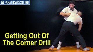 Getting Out Of The Corner Drill for Wrestling & MMA by Zack Esposito