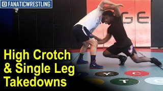 High Crotch And Single Leg Wrestling Takedowns From 2x World Champion Frank Chamizo