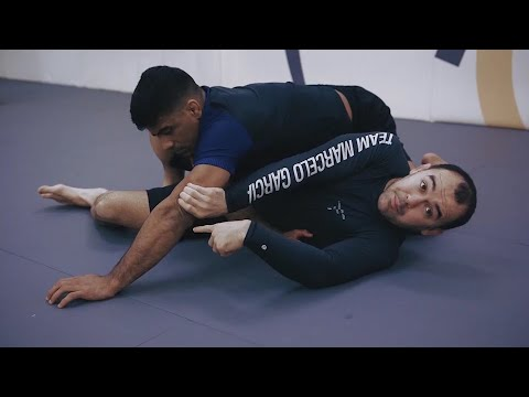Marcelo Garcia's Elbow Push Escape Against Side Control, Sit Up Escape vs Side Control