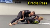 Reverse Cradle Guard Pass by Travis Stevens