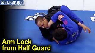 Sneaky Arm Lock from Half Guard by Arnaldo Maidana