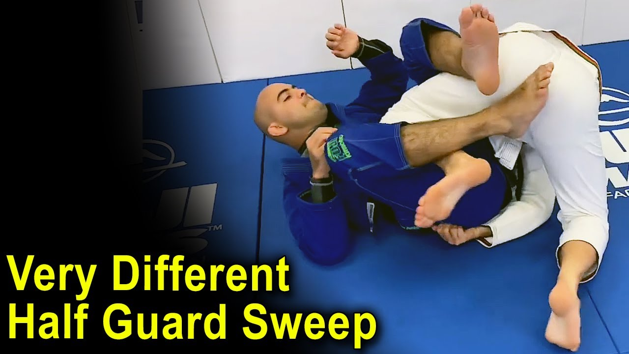 Very Different BJJ Half Guard Sweep by Paul Schreiner