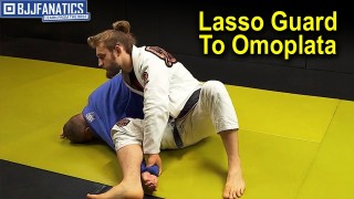 Lasso Guard to Omoplata by Adam Wardzinksi