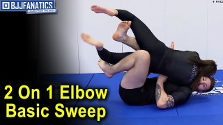 2 On 1 Elbow Basic Sweep 1 by Gordon Ryan