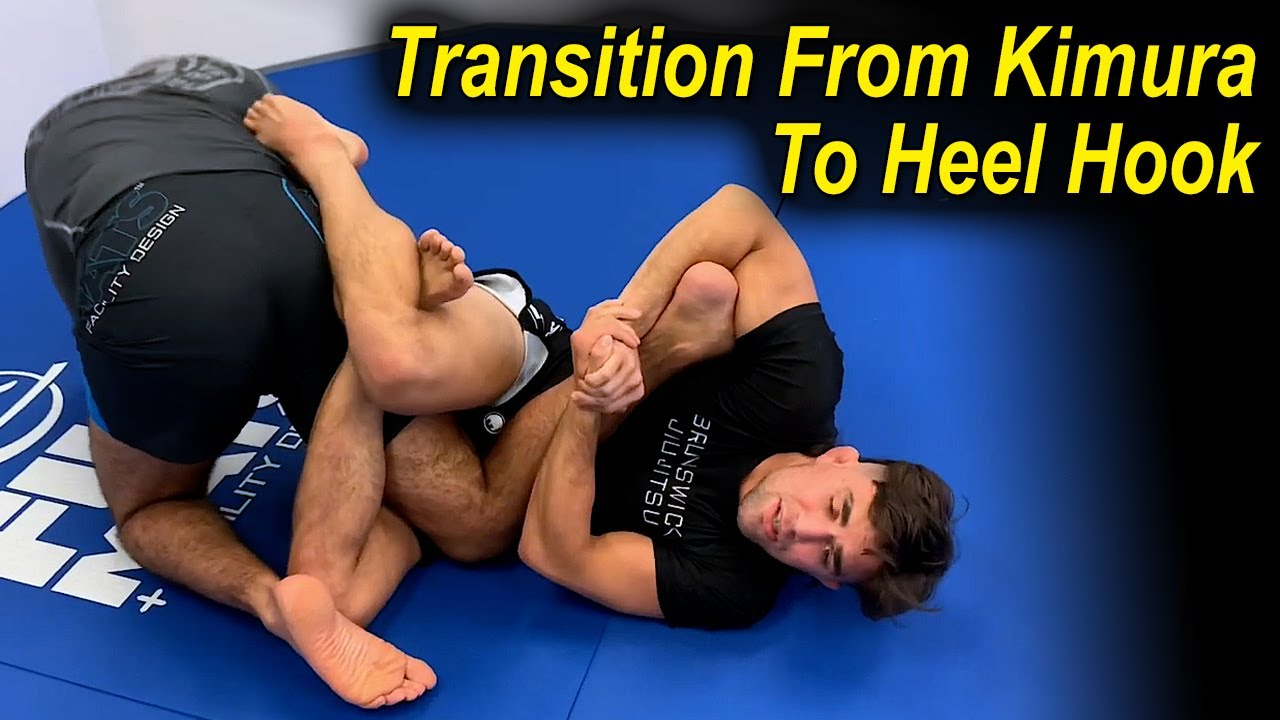 Amazing Jiu Jitsu Transition From The Kimura To The Leg Attack (Heel Hook) by Garry Tonon