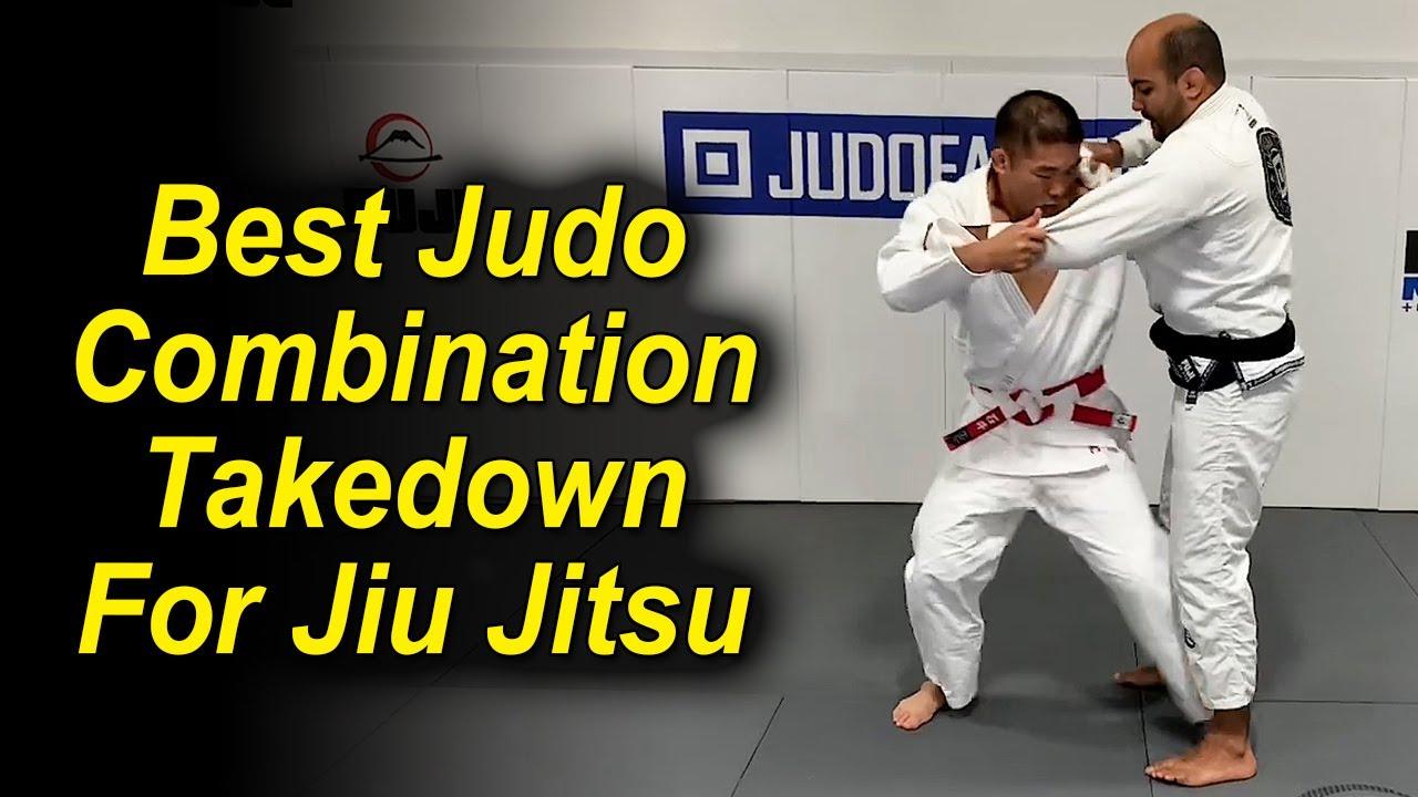 Best Judo Combination Takedown For Jiu Jitsu by Olympic Judo Champion Satoshi Ishii