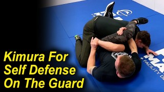 BJJ Kimura For Self Defense On The Guard by Eli Knight & Jared Jessup