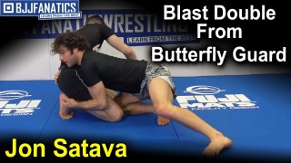 Blast Double From Butterfly Guard by Jon Satava