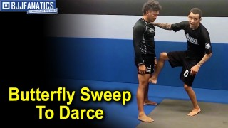 Butterfly Sweep to Darce by Joel Bouhey