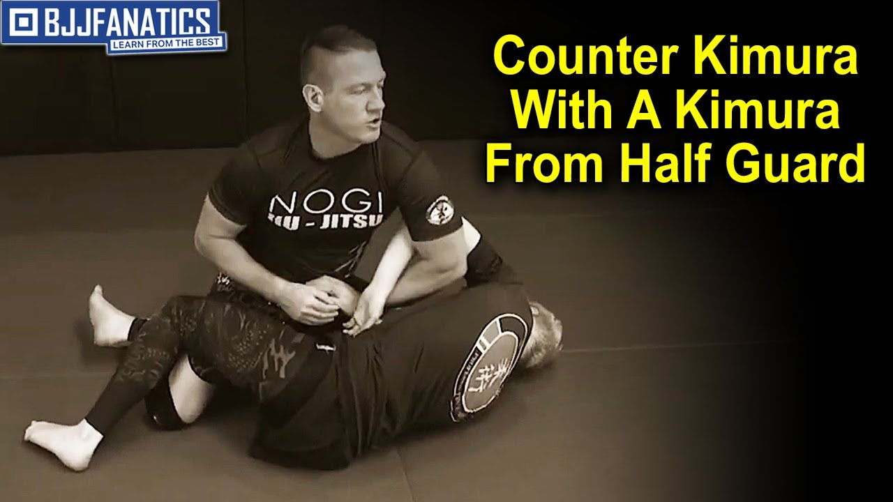 Counter Kimura With A Kimura From Half Guard by Troy Manning