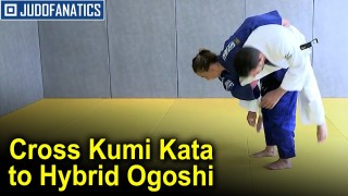 Cross Kumi Kata to Hybrid Ogoshi by Charline Van Snick