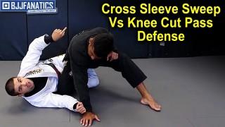 Cross Sleeve Sweep Vs Knee Cut Pass Defense Variation by Thomas Lisboa
