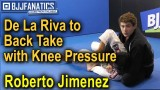 De La Riva to Back Take with Knee Pressure by Roberto Jimenez