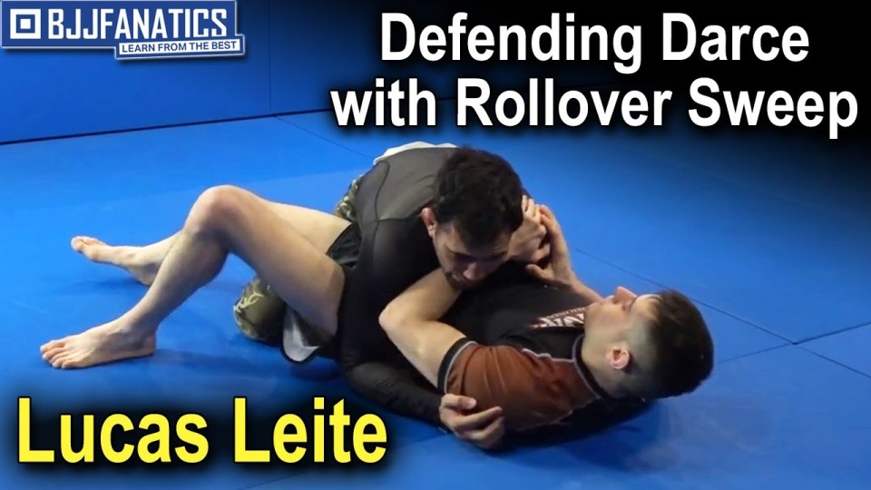 Defending Darce with Rollover Sweep by Lucas Leite