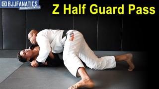 Drill Simulation Z Half Guard Pass by Luiz Dentinho