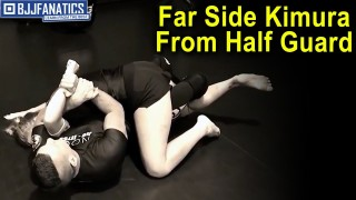 Far Side Kimura From Half Guard by Troy Manning