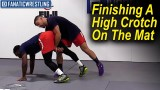 Finishing A High Crotch On The Mat by Dan Vallimont