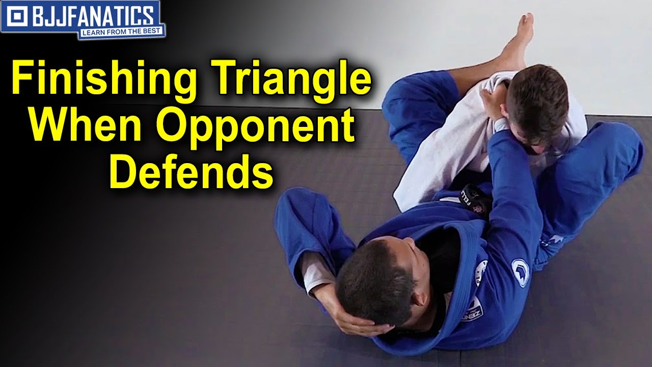 Finishing the Triangle When the Opponent Defends by Fellipe Andrew