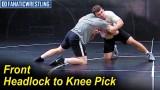 Front Headlock to Knee Pick by Nazar Kulchytskyy