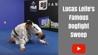 Half Guard Master Shows His Dogfight Sweep – Lucas Leite