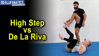 High Step vs De La Riva by Mike Perez