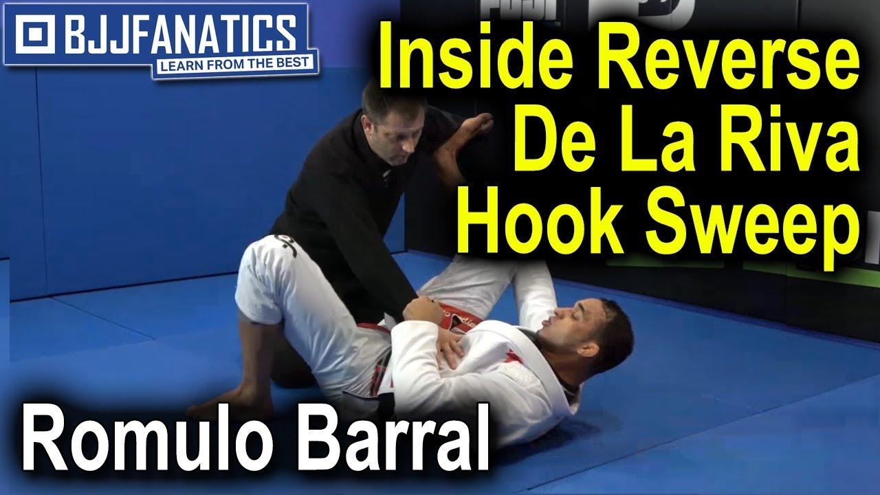 Inside Reverse De La Riva Hook Sweep by Romulo Barral