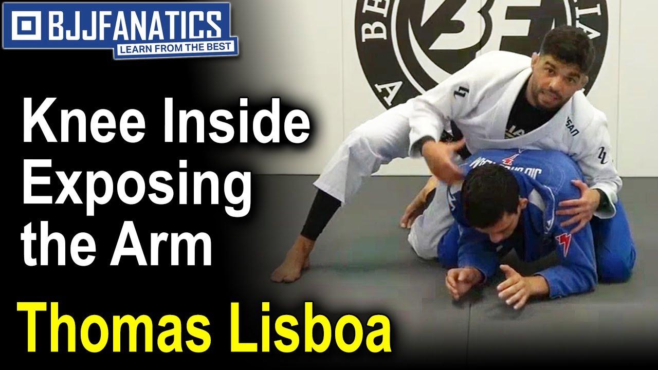 Jiu Jitsu Moves – Thomas Lisboa – Knee Inside Exposing the Arm