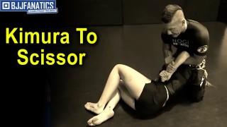 Kimura To Scissor Choke by Troy Manning