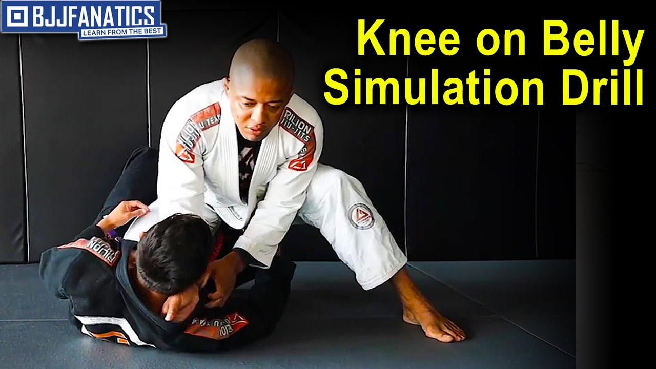 Knee on Belly Simulation Drill by Luiz Dentinho