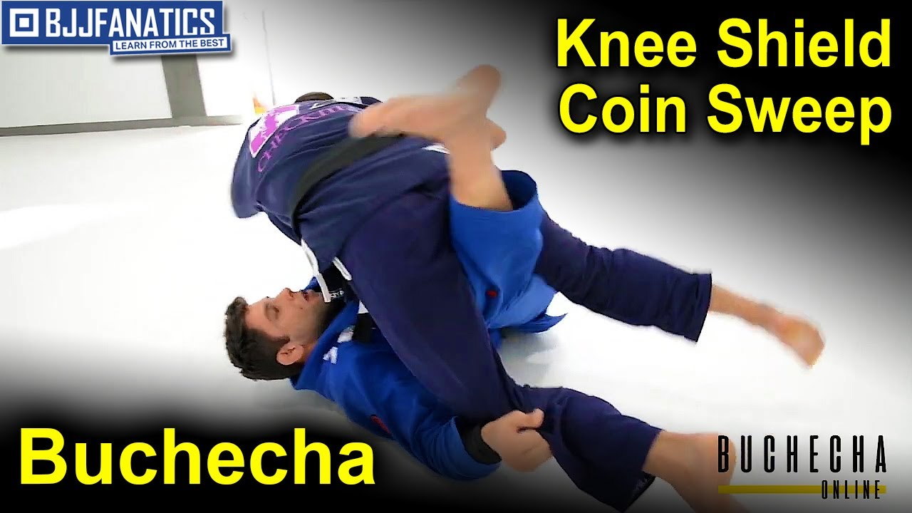 Knee Shield Coin Sweep by Marcus Buchecha Almeida