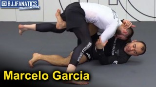 Marcelo Garcia BJJ Techniques – Leg kick Sweep with Collar Tie