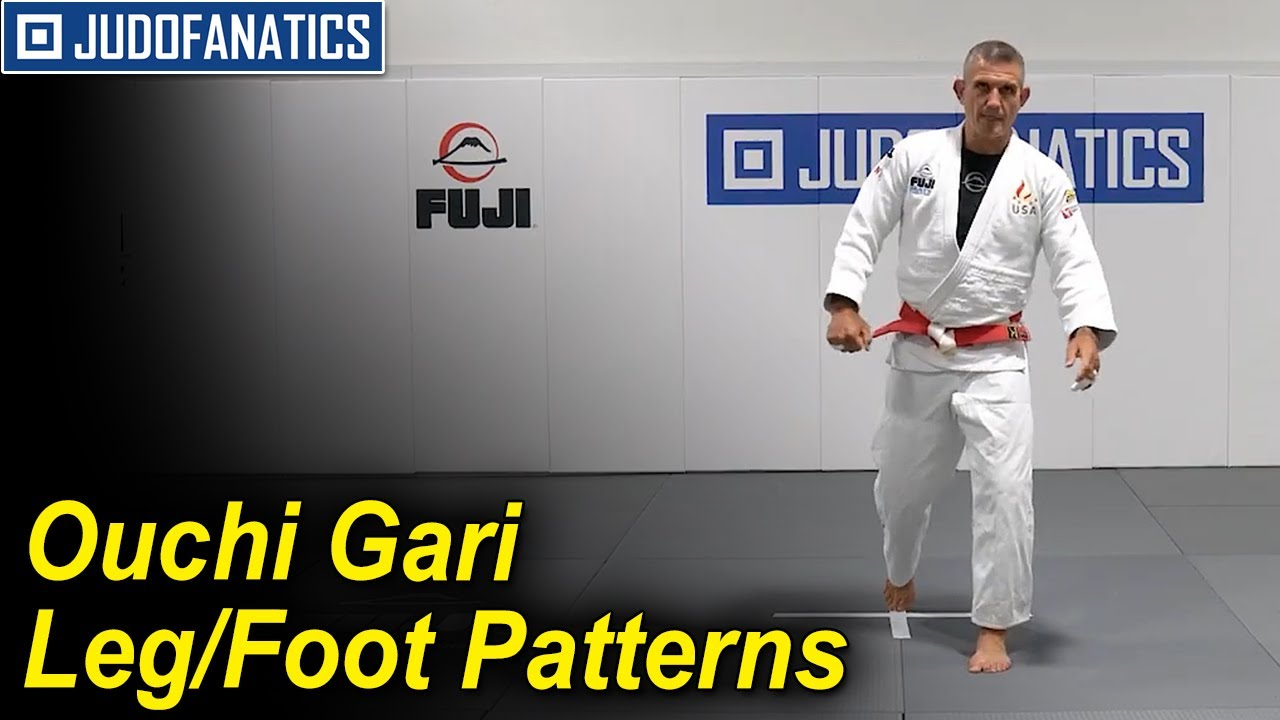OUCHI GARI LEG/FOOT PATTERNS by Jimmy Pedro