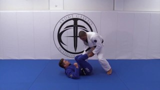 Passing De La Riva with Ankle Grip by Andre Galvao