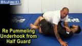 Re Pummeling Underhook from Half Guard by Paul Schreiner