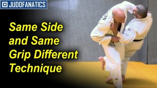 Same Side & Same Grip Different Technique by Nicolas Brisson