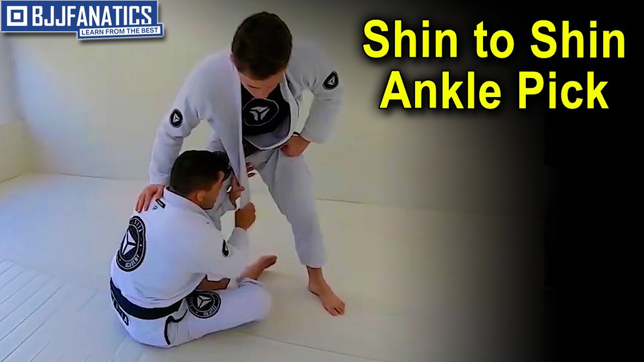 Shin to Shin Ankle Pick by Charles Negromonte