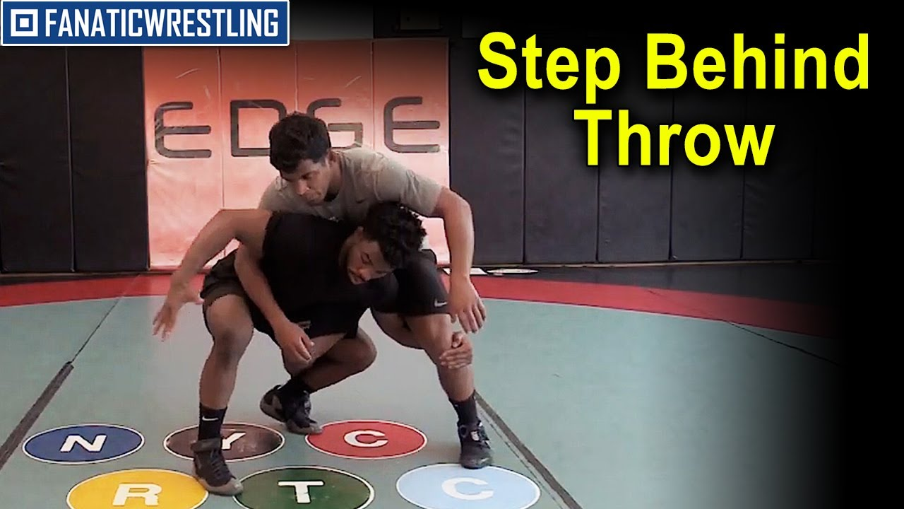 Step Behind Throw by Frank Chamizo