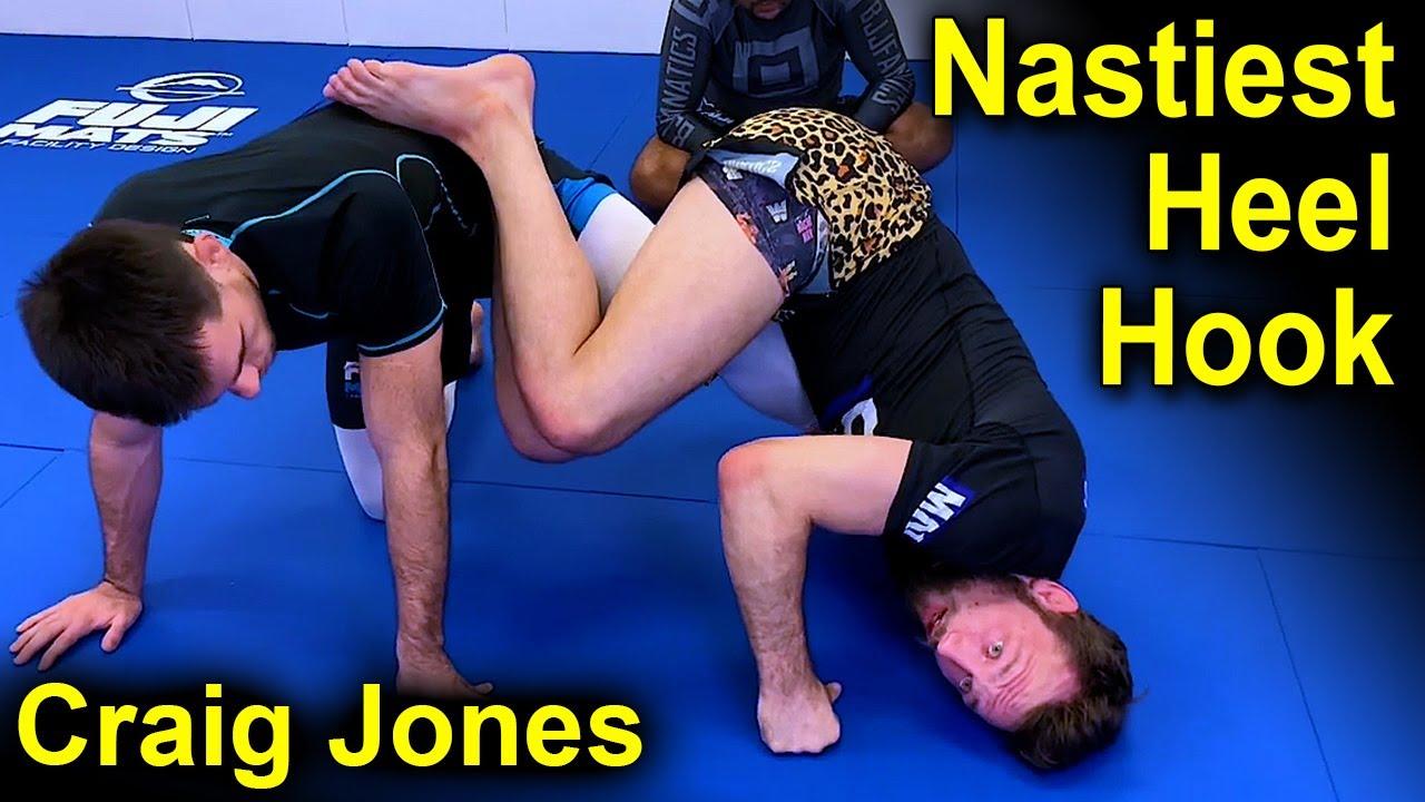 The Nastiest Heel Hook by Craig Jones (Used Against Vinny Magalhaes)