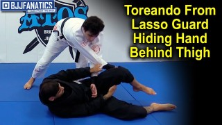 Toreando From Lasso Guard Hiding The Hand Behind The Thigh by Joao Mendes