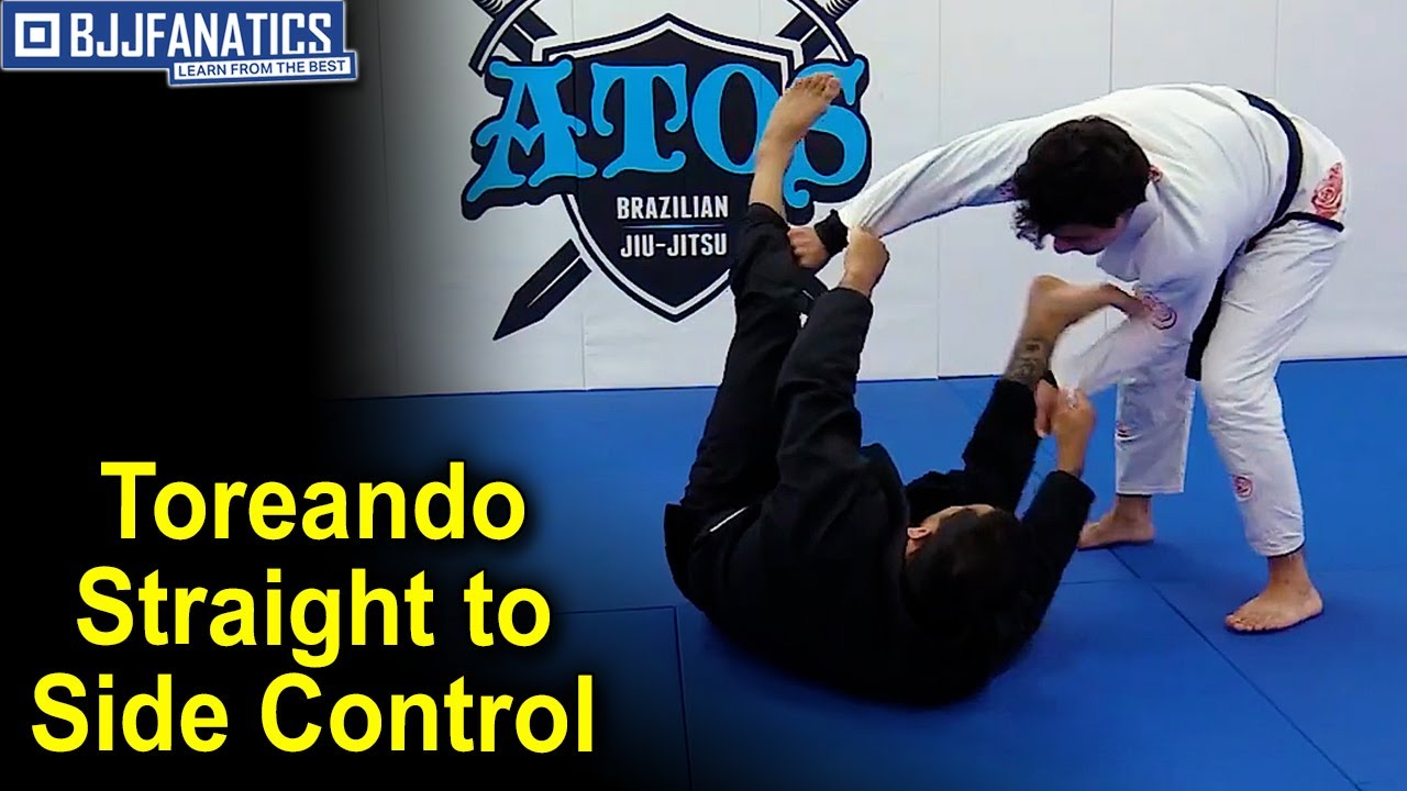 Toreando Straight to Side Control by Joao Mendes