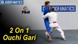 Two on One Ouchi Gari by Jimmy Pedro