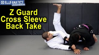 Z Guard Cross Sleeve Back Take by Thomas Lisboa