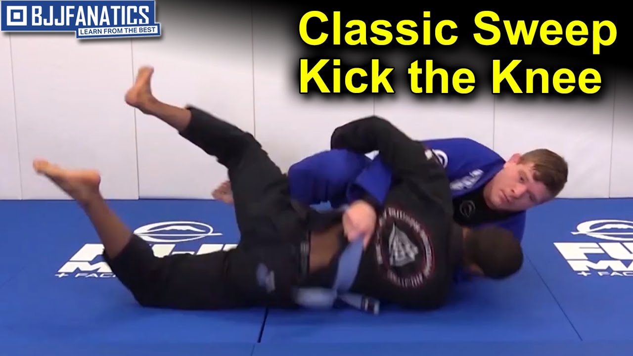 Classic Sweep Kick the Knee – BJJ Moves by John Gutta