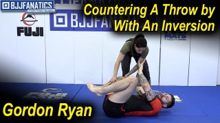 Countering A Throw by With An Inversion by Gordon Ryan